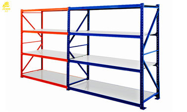 Steel Q235 Medium Duty Tire Storage Rack 2Mx0.6Mx2M Size Blue Colour 3 Levels