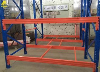 China Warehouse Selective Pallet Racking System , Metal Industrial Pallet Rack Shelving supplier
