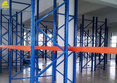 4000KG Load Industrial Pallet Racking Systems , Steel Heavy Duty Pallet Shelving