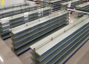 65KG / Layer Wire Gondola Shelving / Large Supermarket Display Racks