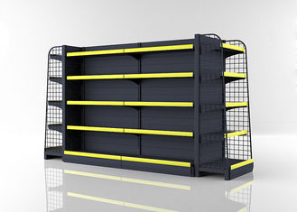 Double Side Convenience Store Shelving For Grocery Store 1800mm High