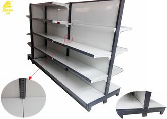 Durable Supermarket Shelving Systems , Luxury Supermarket Display Stand
