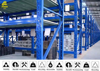 Rust - Proof Medium Duty Steel Rack For Storage Reasonable Structure
