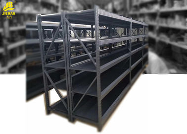 Adjustable Warehouse Shelving Systems / Galvanized Steel Industrial Pallet Racks