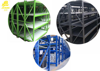 Waterproof Warehouse Racking System , Long Span Industrial Storage Racks