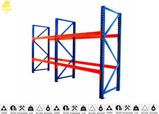 Safe Drive In Pallet Racking System , Push Back Pallet Rack Storage Systems