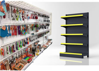 High Load Capacity Supermarket Storage Racks Wall Side 30kg / Layer