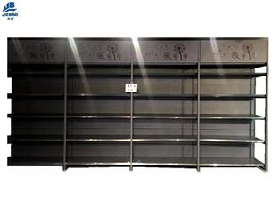 Heavy Duty Supermarket Rack Systems , Durable Shop Grocery Store Shelves