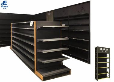 Medium Sized Supermarket Storage Racks With Four Column 50*30*1.2mm