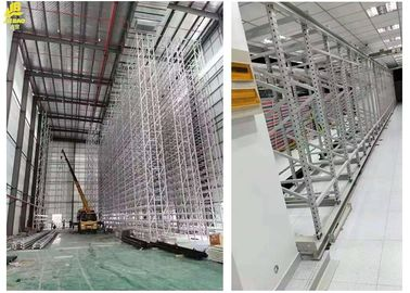 Adjustable Dust Proof Warehouse Pallet Racking With Baked Enamel Finishes