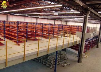 China Double Deep Medium Duty Rack , Warehouse Pallet Shelving 100x70x2.2mm Columns supplier