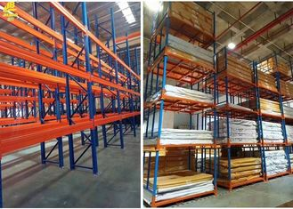 Automated Warehouse Pallet Shelving Systems / Commercial Pallet Rack Storage Shelves