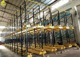 China High Density Storage Warehouse Pallet Racking Customized Height And Width supplier