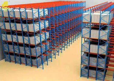 Mobile Drive In And Drive Through Racking / Heavy Duty Pallet Racking System