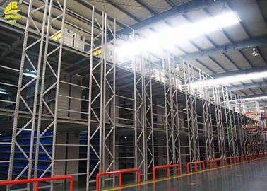China Industrial Warehouse Pallet Racking , Mezzanine Floor Racking System supplier