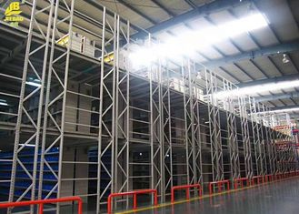 Industrial Warehouse Pallet Racking , Mezzanine Floor Racking System