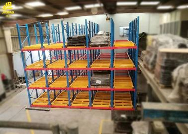 High Performance Pushback Pallet Racks , Antistatic Pallet Racking Storage