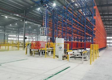 OEM Automated Pallet Storage And Retrieval System / ASRS Storage System