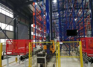 Stereo ASRS Solutions , Automated Item Retrieval System High Pallet Racks