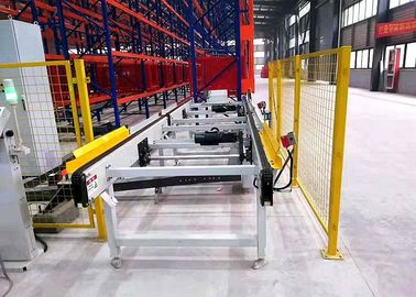 Space Saving Mini Load Automated Storage And Retrieval System In Warehouse