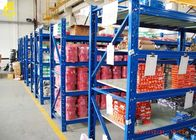 China Warehouse Steel Rack L Beams Blue Colour 500KG/Layer Medium Duty Storage Systems company