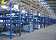 China 1000KG/Layer Heavy Duty Steel Racks Smooth Surface Assembly Structure RAL Color company