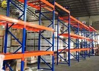 China High Density Heavy Duty Pallet Rack Shelving , Blue Color Heavy Duty Racking System company