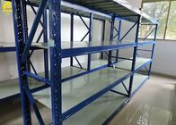 China Storage Heavy Duty Steel Racks With Safety Bins 2000/2500mm Height RAL Blue Color company