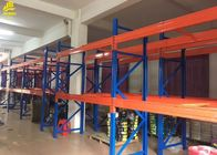 China Pipe Storage Warehouse Pallet Racking With Upright Guard / Bolts Custom Color company
