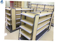 MDF Supermarket Storage Racks For Convenience Store , Pharmacy Store