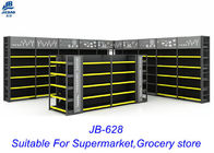 Modern Retail Grocery Display Racks For Larger Scale Luxury Supermarkets