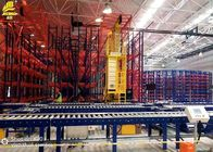 Anti Corrosion Roller Pallet Racking Systems / Warehouse Pallet Storage Racks