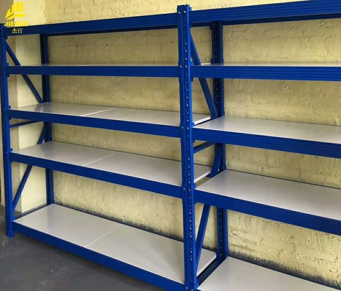 china steel structure assembly warehouse storage racks long span industrial shelving supplier - Industrial Storage Racks