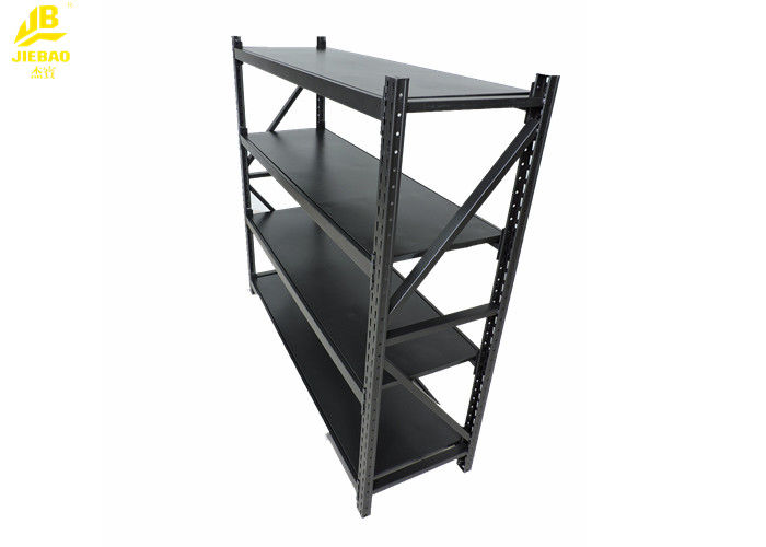 Iron Light Duty Shelving Matt Silver Powder Coated Steel Storage Racks Inspiration Powder Coating Racks Suppliers