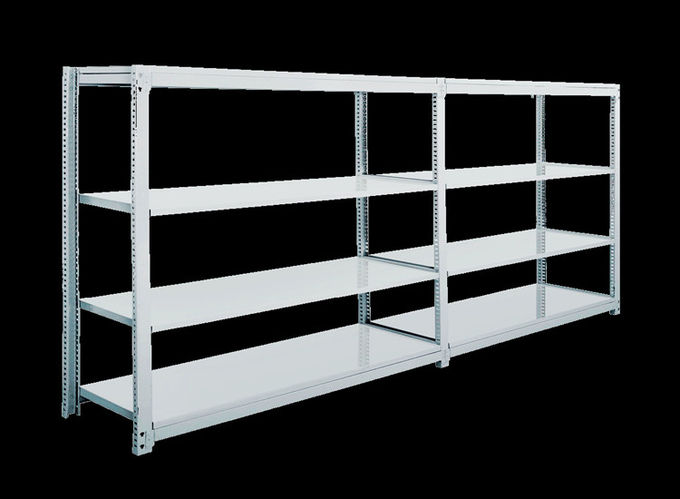 Light Duty Warehouse Steel Storage Racks 450-800mm Wide 1200-2400mm High