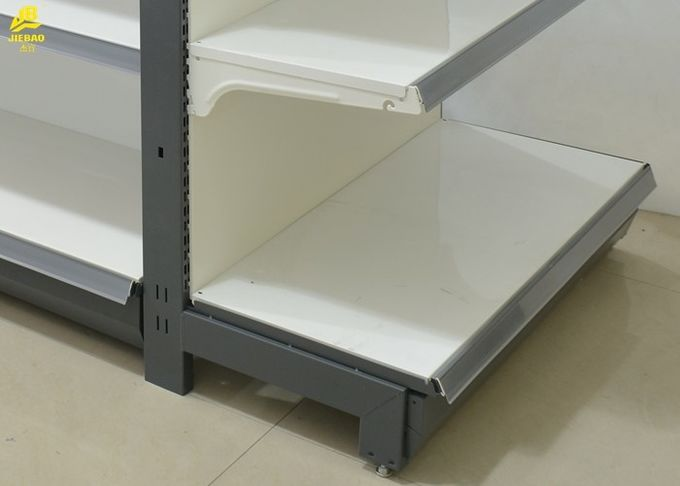 65KG/Layer Commercial Retail Shelving Systems Heavy Duty Display Racks For Markets